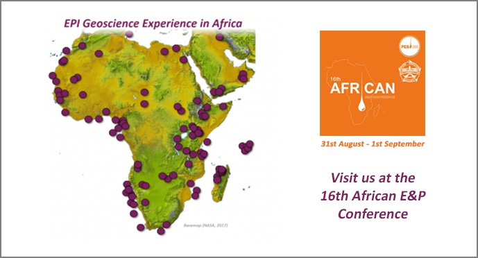 EPI at PESGB/HGS African E&P Conference 31 Aug-1 Sept 2017