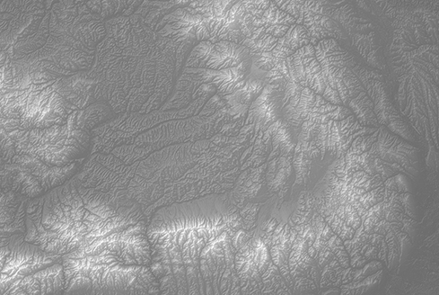 Carpathian Mountains Digital Elevation Model