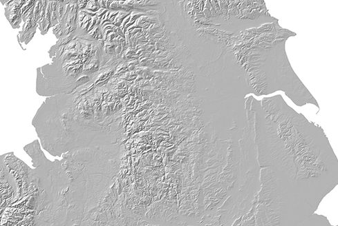 Northern UK Digital Elevation Model